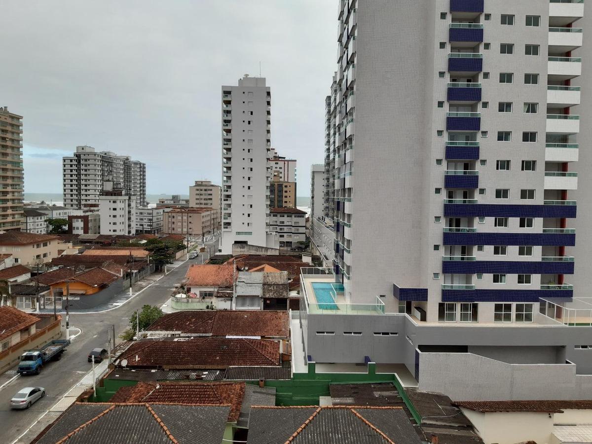 apartamento com 1 dormitório à venda, 54 m² por r$ 165.000 - cidade ocian - praia grande/sp - ap0132