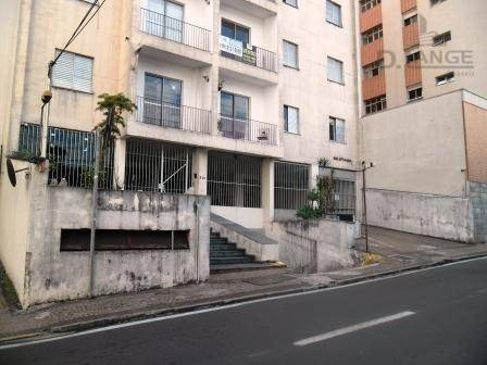 apartamento com 1 dormitório à venda, 55 m² por r$ 200.000 - centro - campinas/sp - ap15676