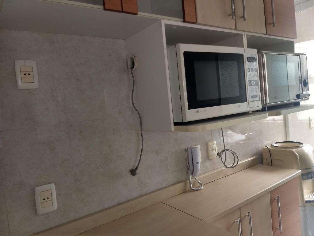 apartamento com 1 dormitório à venda, 55 m² por r$ 400.000,00 - mansões santo antônio - campinas/sp - ap5417