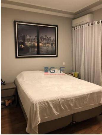 apartamento com 1 dormitório à venda, 57 m² por r$ 265.000 - centro - campinas/sp - ap8184