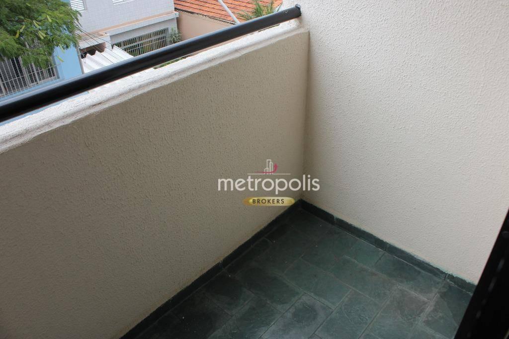 apartamento com 1 dormitório à venda, 57 m² por r$ 295.000,00 - santa maria - são caetano do sul/sp - ap3268