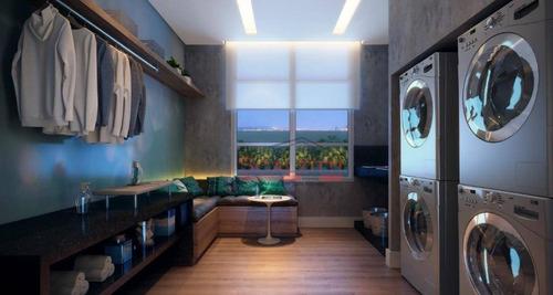 apartamento com 1 dormitório à venda, 57 m² por r$ 601.656 - chácara santo antônio (zona sul) - são paulo/sp - ap1933