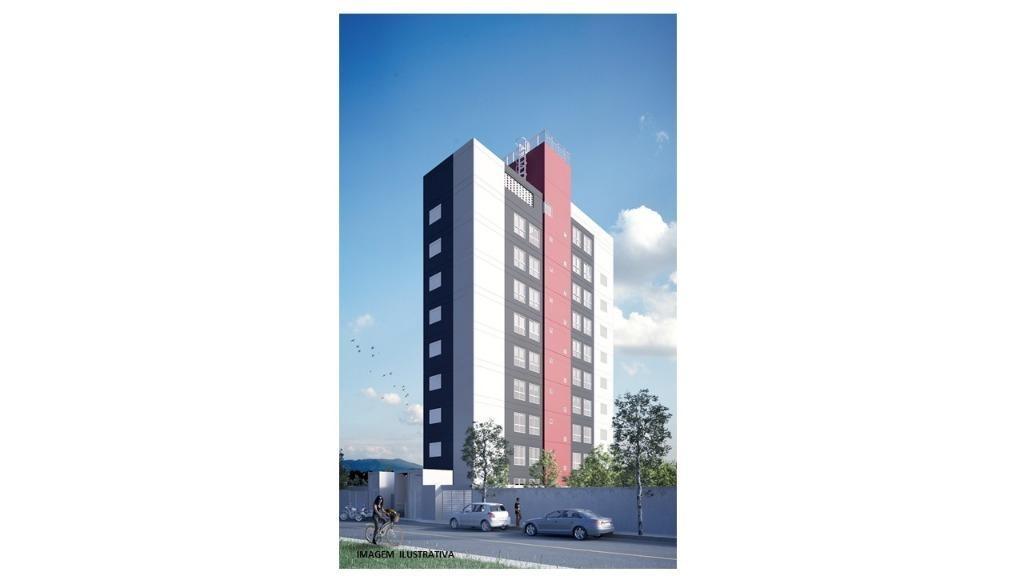 apartamento com 1 dormitório à venda, 60 m² - fundação - são caetano do sul/sp - ap2822