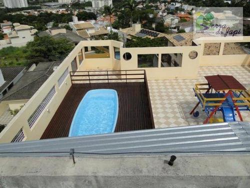 apartamento com 1 dormitório à venda, 60 m² por r$ 265.000 - jardim quintas das videiras - jundiaí/sp - ap3482