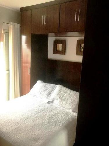 apartamento com 1 dormitório à venda, 60 m² por r$ 335.000 - mooca - são paulo/sp - ap4594
