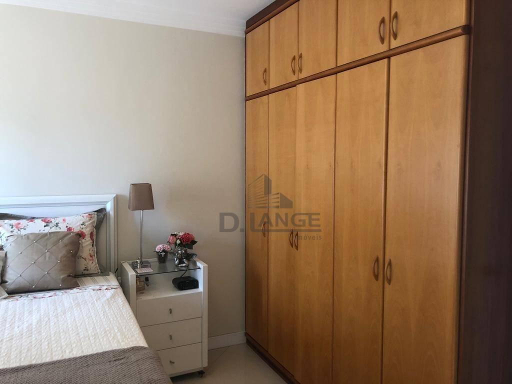 apartamento com 1 dormitório à venda, 60 m² por r$ 335.000 - vila itapura - campinas/sp - ap18432