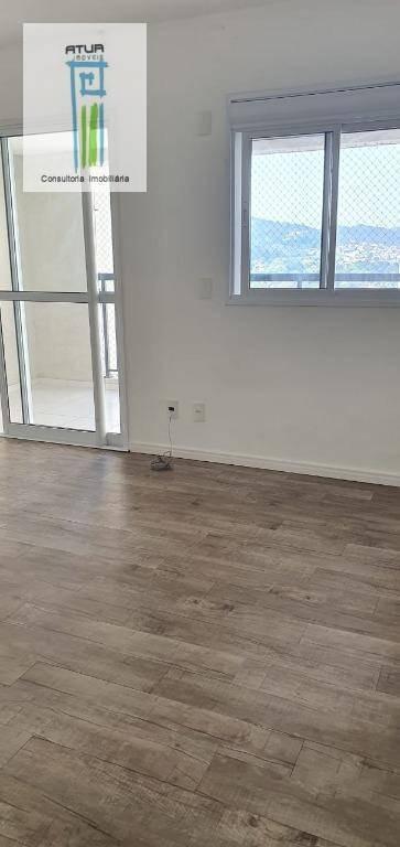 apartamento com 1 dormitório à venda, 65 m² por r$ 350.000,00 - jardim flor da montanha - guarulhos/sp - ap0579