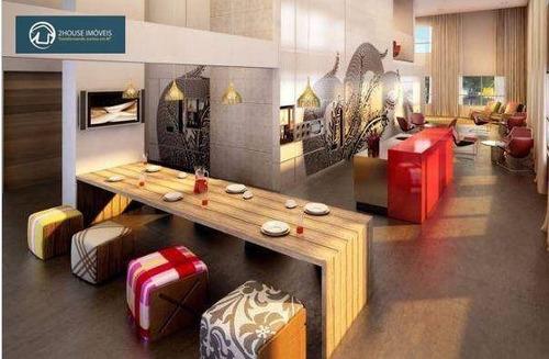 apartamento com 1 dormitório à venda, 70 m² por r$ 500.000,00 - vila leopoldina - são paulo/sp - ap22668