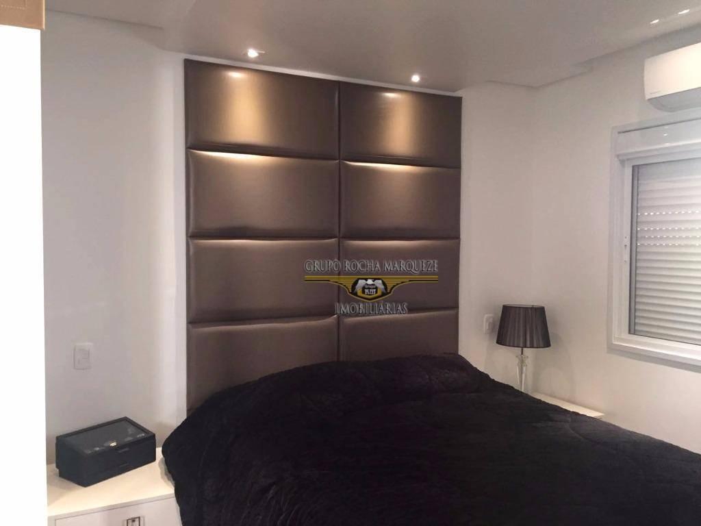apartamento com 1 dormitório à venda, 72 m² por r$ 780.000,00 - tatuapé - são paulo/sp - ap1602