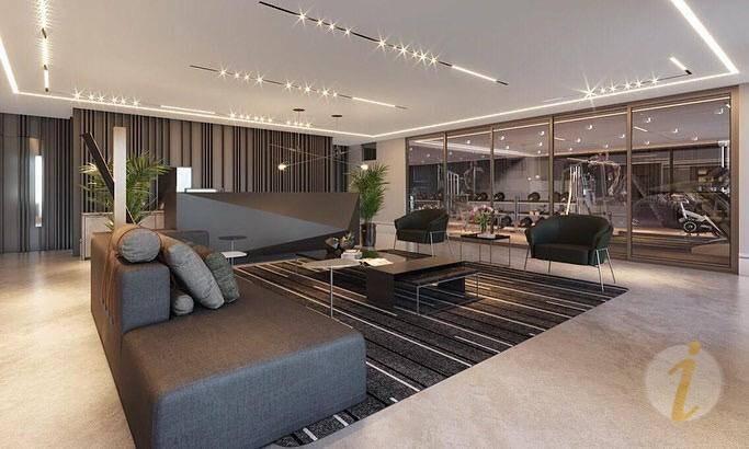 apartamento com 1 dormitório à venda, 73 m² por r$ 519.704 - cabo branco - joão pessoa/pb - ap6772