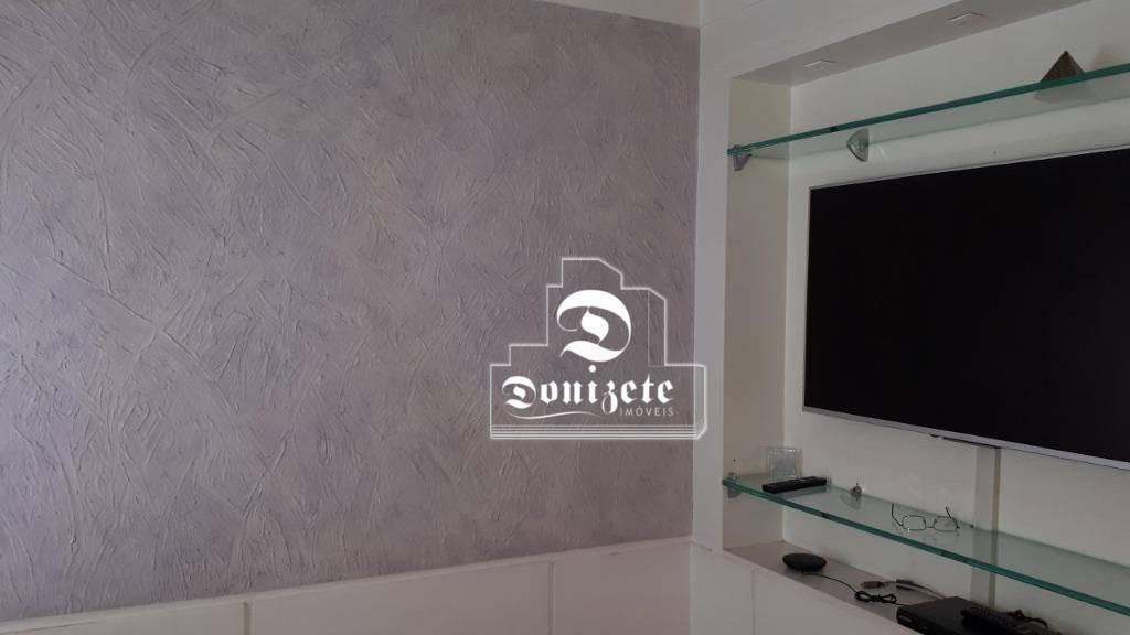 apartamento com 1 dormitório à venda, 76 m² por r$ 380.000,00 - jardim bela vista - santo andré/sp - ap7638