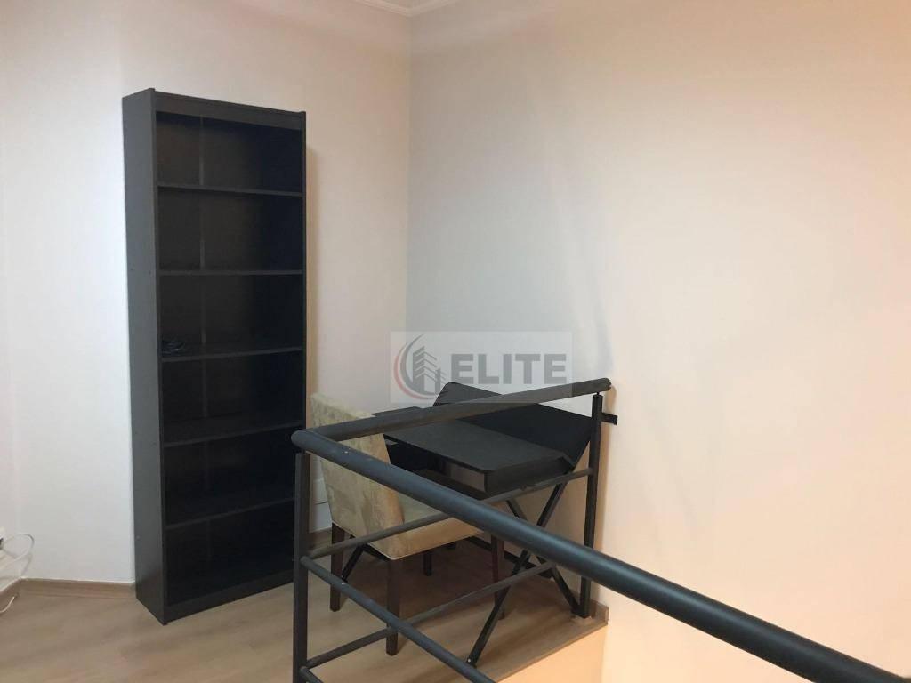 apartamento com 1 dormitório à venda, 84 m² por r$ 610.000,00 - jardim - santo andré/sp - ap9486