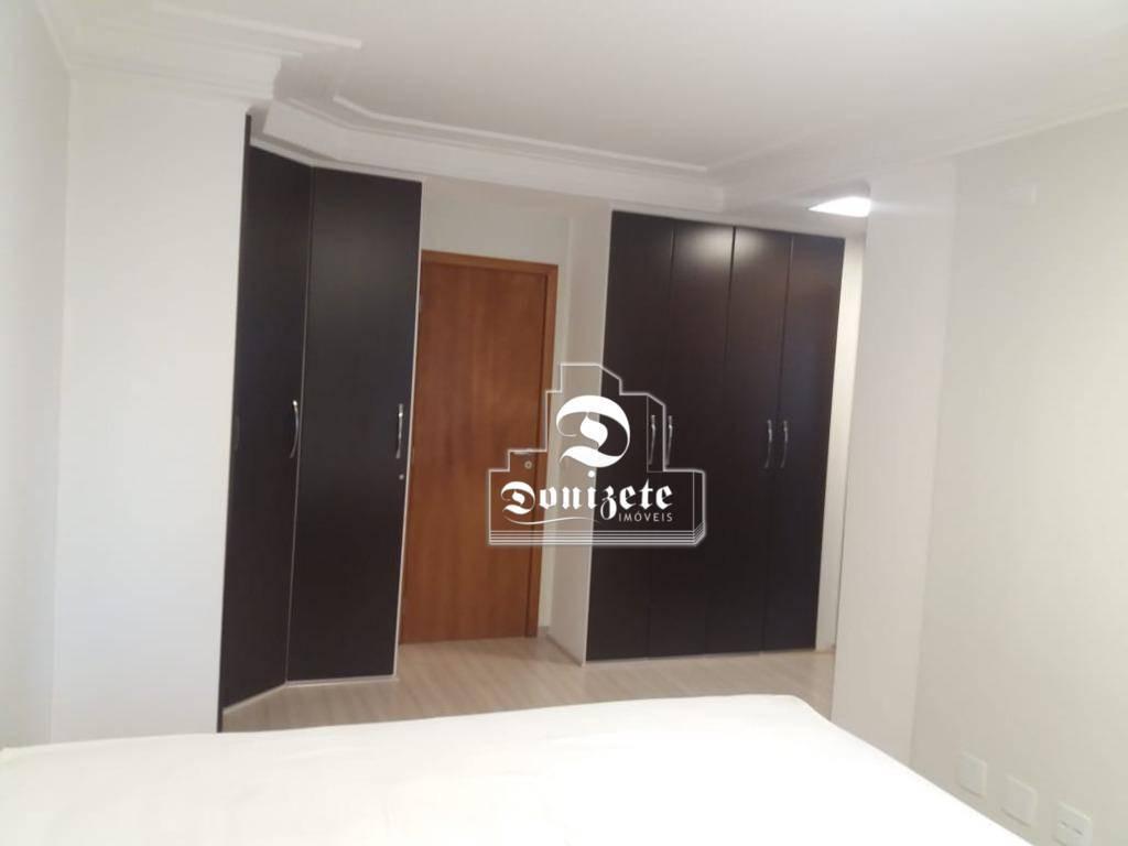 apartamento com 1 dormitório à venda, 86 m² por r$ 665.000,00 - jardim - santo andré/sp - ap2326