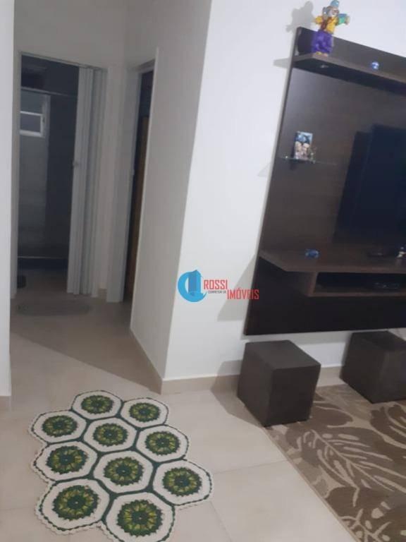 apartamento com 1 dormitório à venda, por r$ 148.000 - tupi - praia grande/sp - ap1228