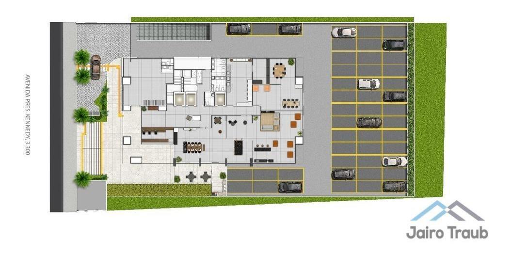 apartamento  com 1 dormitório(s) localizado(a) no bairro boa vista em são caetano do sul / são caetano do sul  - 2614:905300