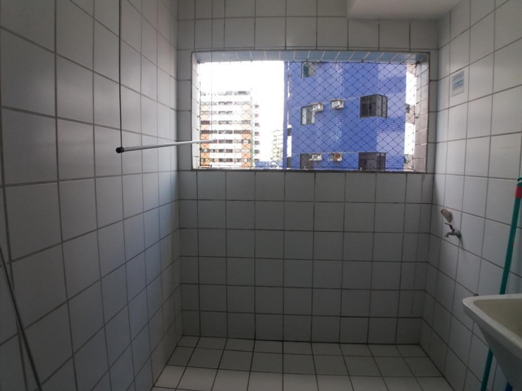 apartamento com 1 quarto para alugar, 45 m² por r$ 1.689,00mês com taxas - boa viagem - recife/pe - ap0101
