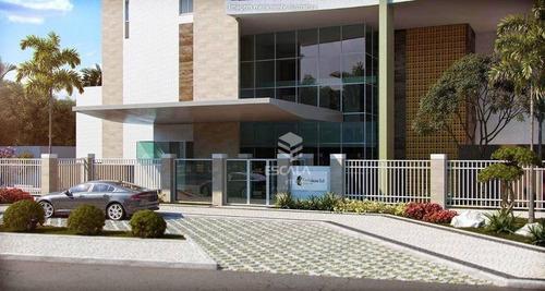 apartamento com 1 quarto à venda, 31 m², área de lazer,1 vaga, financia  edson queiroz - fortaleza/ce - ap0658