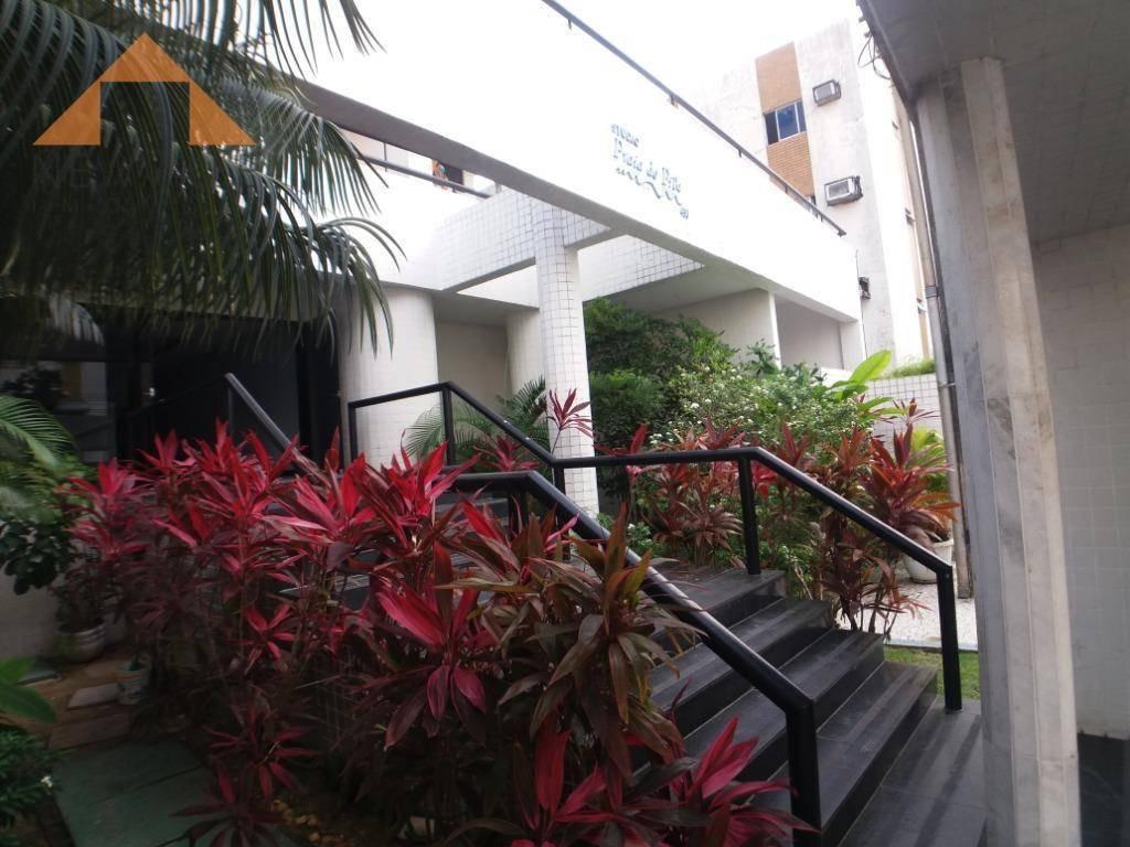 apartamento com 1 quartos para alugar, 42 m² por r$ 2.000/mês - boa viagem - recife/pe - ap0079