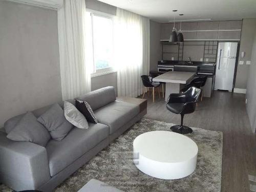 apartamento com 1 suite tipo loft mobiliado. - 1785-2