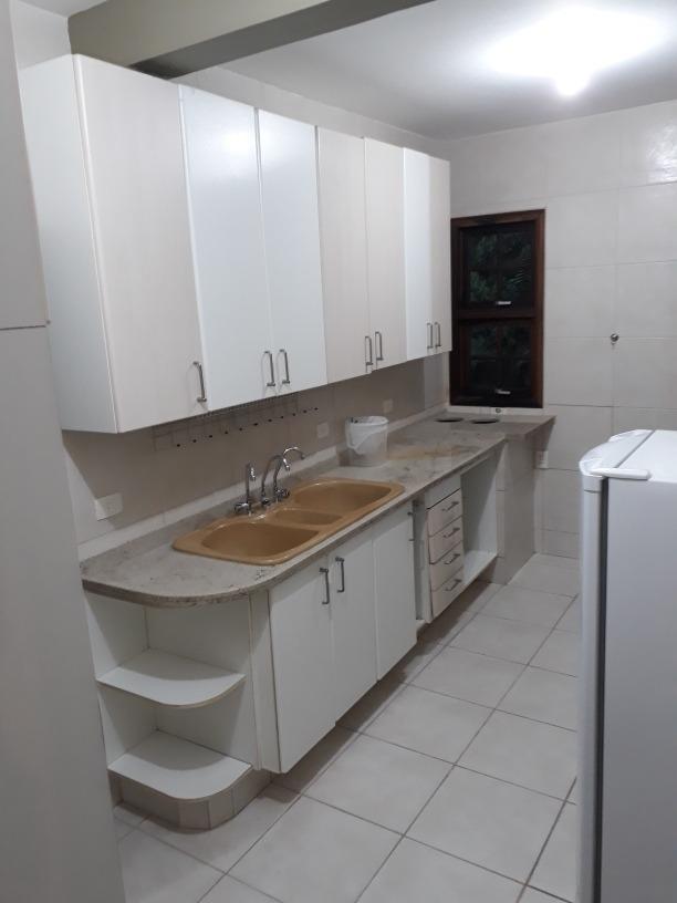 apartamento  com 100 m2 condominio fechado granja viana
