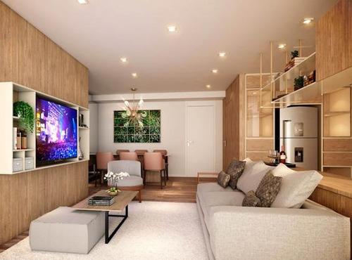 apartamento com 107m² com 3 suítes e 121m² de terraço