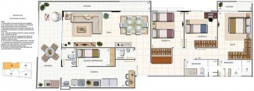 apartamento com 122 metros - estrela matriz - botafogo - 67