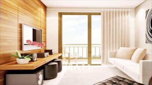 apartamento com 2 dorm, elevador, sacada, são josé do rio preto - v1076