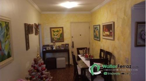 apartamento com 2 dormitório suite dep de empregada. - 1329