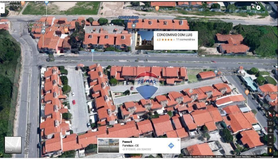 apartamento com 2 dormitório à venda por r$ 120.000 - passaré - fortaleza/ce - ap0013
