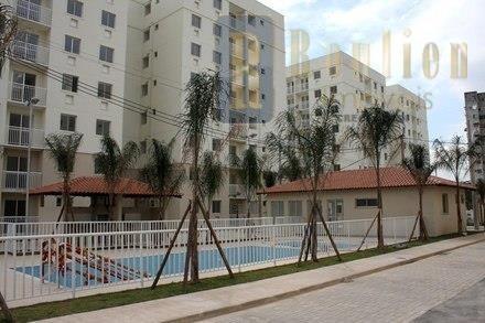 apartamento  com 2 dormitórios  170 mil - marco ii - nova iguaçu - ap0038