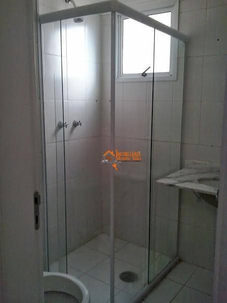 apartamento com 2 dormitórios, 60 m²  - macedo - guarulhos/sp - ap1219