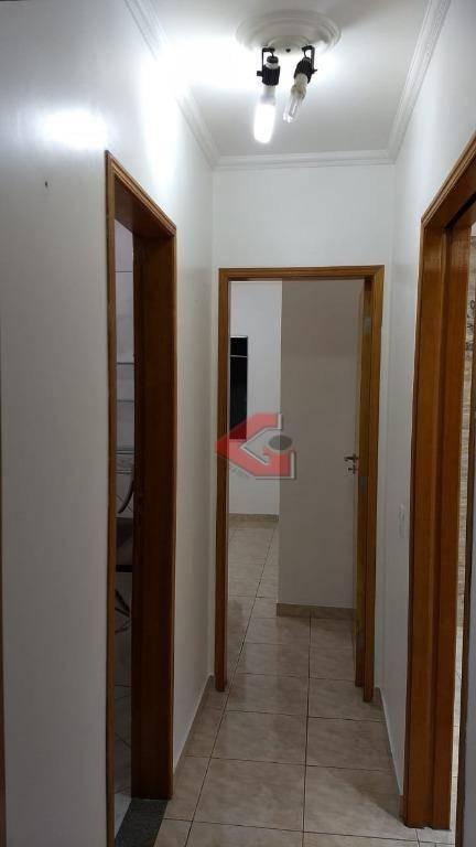 apartamento com 2 dormitórios, 62 m² - venda por r$ 330.000,00 ou aluguel por r$ 1.550,00/mês - rudge ramos - são bernardo do campo/sp - ap2777