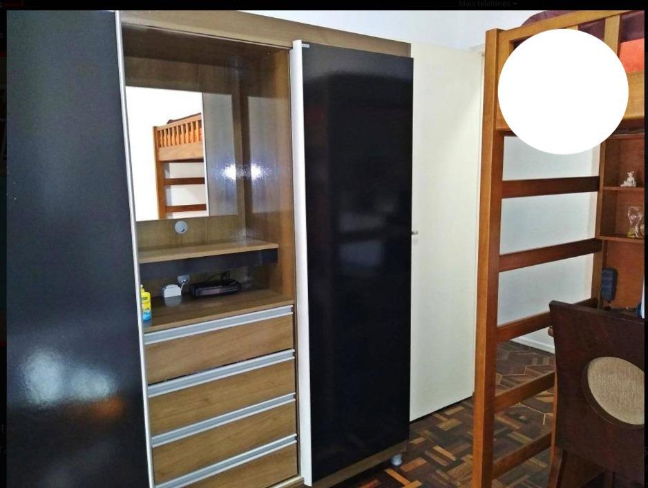 apartamento com 2 dormitórios, aviação - praia grande