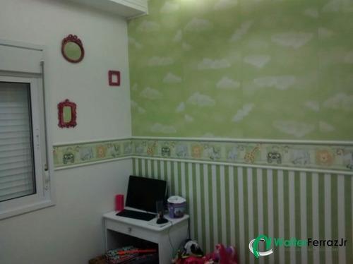 apartamento com 2 dormitórios com lazer completo. - 1267