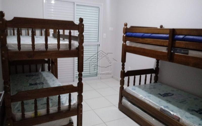 apartamento com 2 dormitórios com suite em vila caiçara praia grande-sp