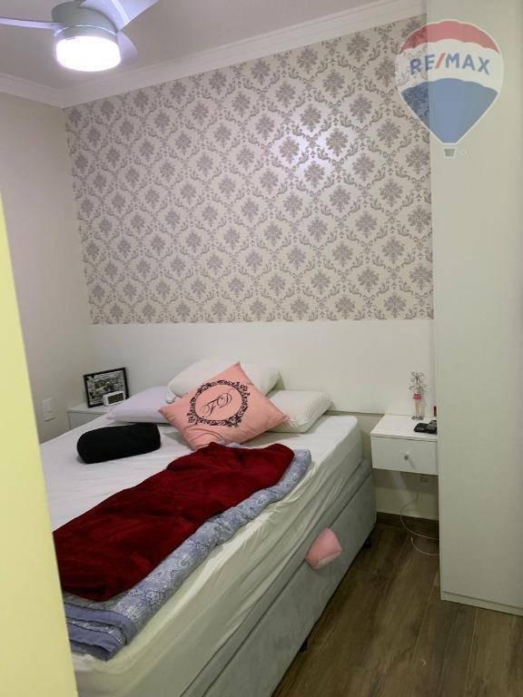 apartamento com 2 dormitórios e 1 vaga de garagem - sacomã - ap10656