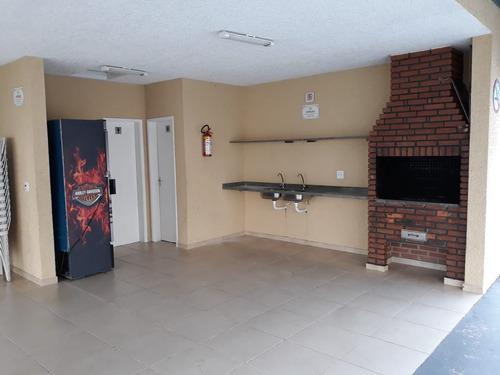 apartamento com 2 dormitórios em jandira no centro, pronto