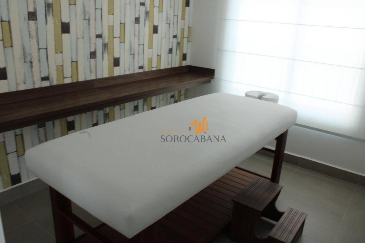apartamento com 2 dormitórios em sorocaba para alugar, 72 m² por r$ 1.800,00/mês - la vista moncayo - sorocaba/sp - ap0052
