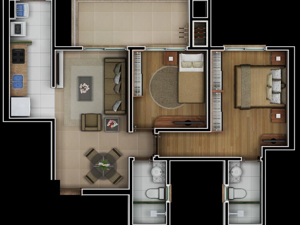 apartamento  com 2 dormitório(s) localizado(a) no bairro niterói em canoas / canoas  - 787