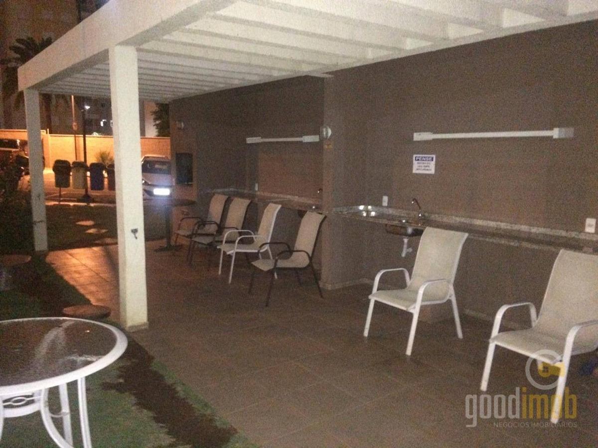 apartamento com 2 dormitórios mobiliado no campolim-r$ pacote - ap0081
