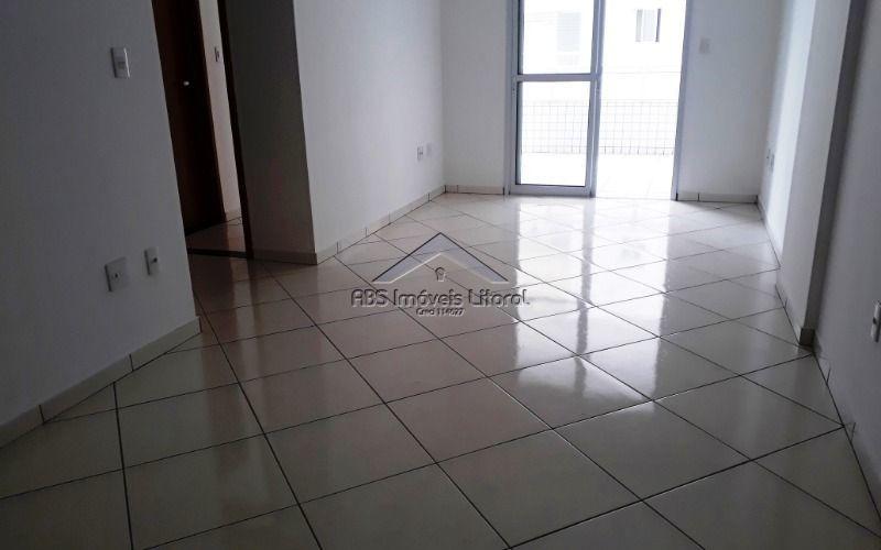 apartamento com 2 dormitórios na vila guilhermina  em praia grande