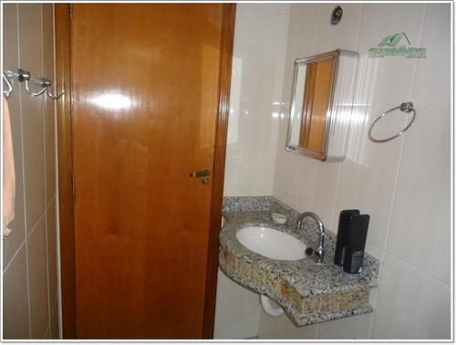 apartamento com 2 dormitórios no canto do forte em praia gra