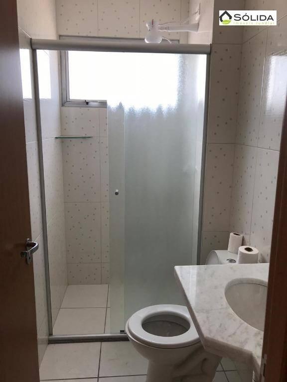 apartamento com 2 dormitórios no condominio doce lar bela colonia à venda, 45 m² por r$ 190.000 - cidade nova - jundiaí/sp - ap0570