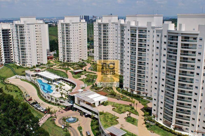 apartamento com 2 dormitórios para alugar, 113 m² por r$ 4.000,00/mês - alphaville - santana de parnaíba/sp - ap1190