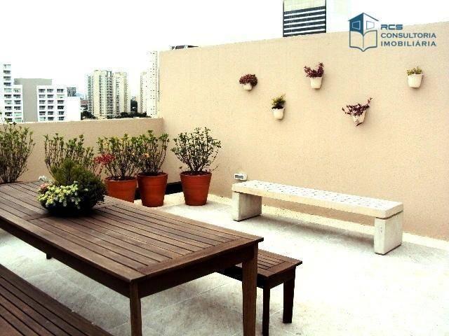 apartamento com 2 dormitórios para alugar, 35 m² por r$ 2.500/mês - vila leopoldina - são paulo/sp - ap11089