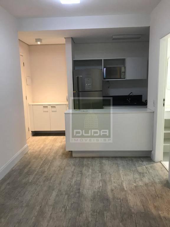 apartamento com 2 dormitórios para alugar, 44 m² por r$ 3.900/mês - brooklin paulista - são paulo/sp - ap5141