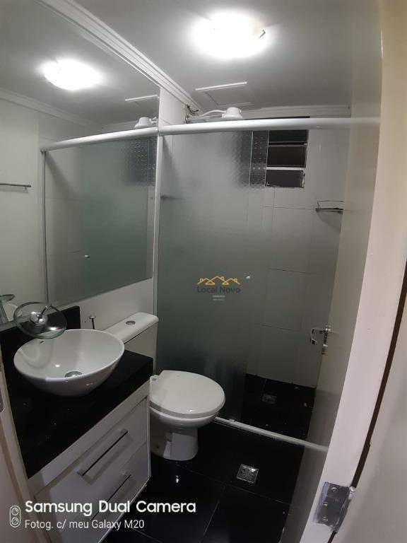 apartamento com 2 dormitórios para alugar, 46 m² por r$ 1.000/mês - jardim adriana - guarulhos/sp - ap0781