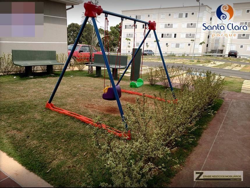 apartamento com 2 dormitórios para alugar, 47 m² por r$ 1.200,00/mês - vila alzira - guarulhos/sp - ap0323