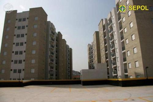 apartamento com 2 dormitórios para alugar, 47 m² por r$ 1.300/mês - vila carrão - são paulo/sp - ap0418