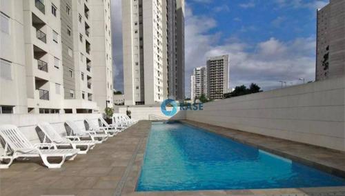 apartamento com 2 dormitórios para alugar, 47 m² por r$ 2.000/mês - morumbi - são paulo/sp - ap2776